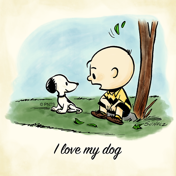 PEANUTS's photo on #NationalLoveYourPetDay