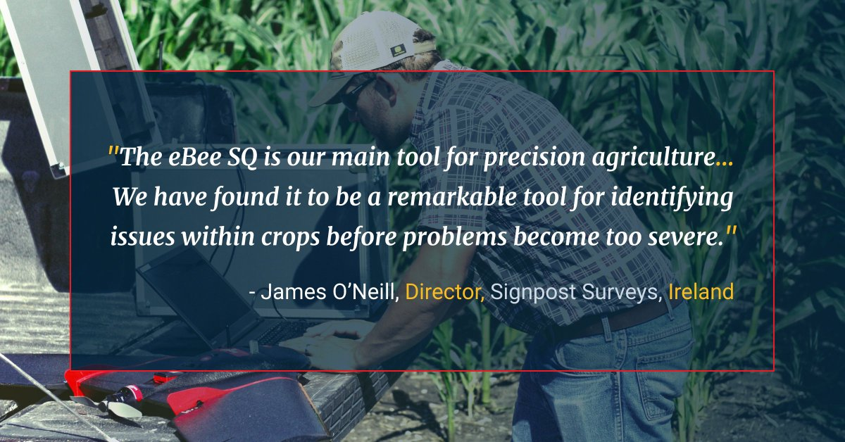 Take your crop analysis aerial by taking advantage of our