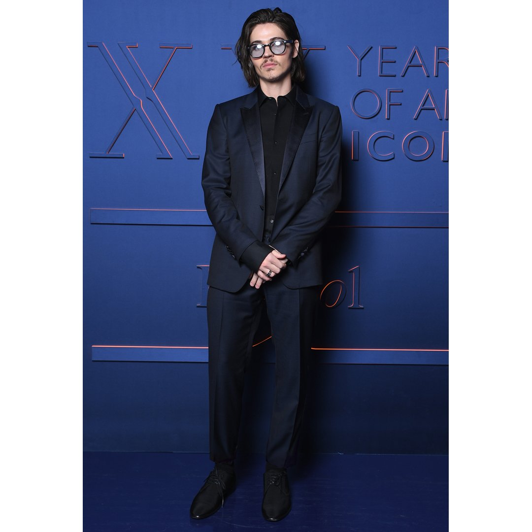Will Peltz poised in a Dolce&Gabbana suit.  #DGMen #DGCelebs