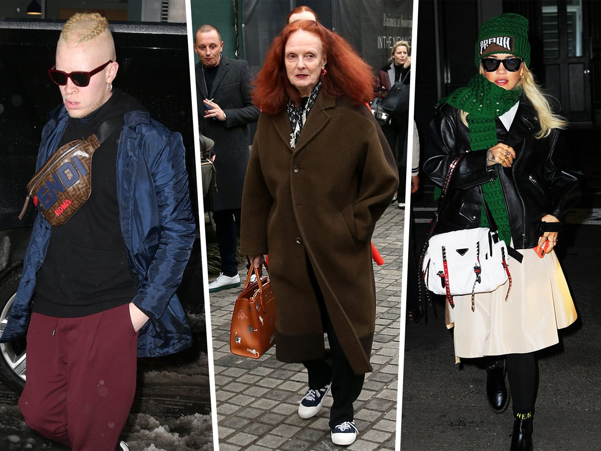 a7d0b4688 Fashion Week Movers & Shakers Flaunt Their Bags - https://www.purseblog