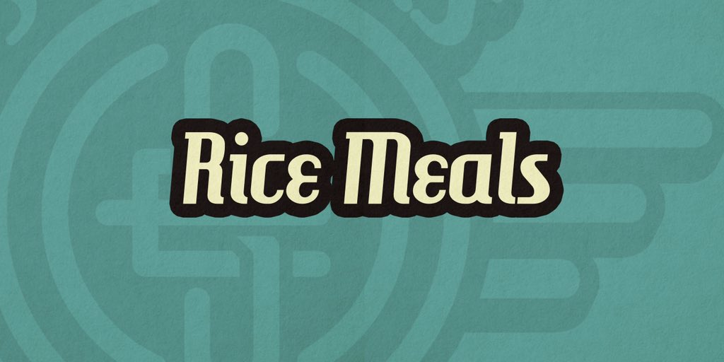 Is that......the sound of GOOD FOOD?  The long wait is finally over! Introducing the first wave of good food: RICE MEALS  #SongEats