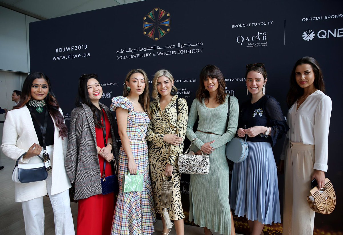 Qatar Airways On Twitter We Re Bringing Celebrities And Influencers From Across The World To Attend Djwe2019 Including Beauhanxu Aishwarya Rai Bachchan Grace Chen And Many More Make Sure You Pass By Qatar
