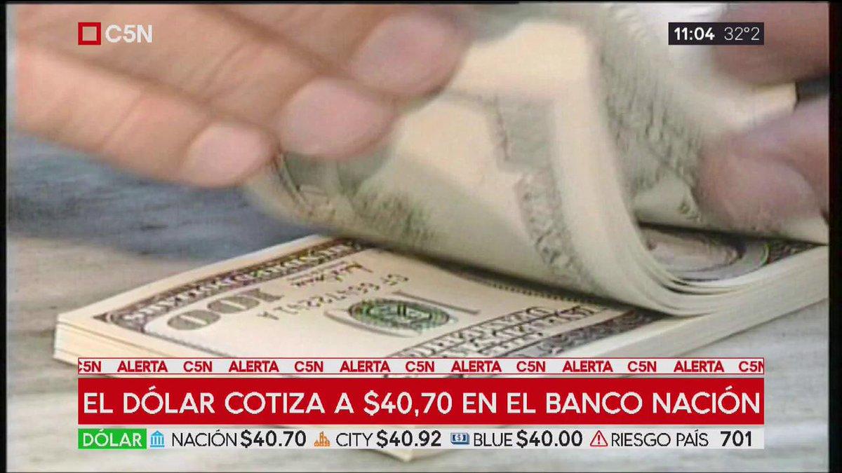 C5N's photo on Banco Nación