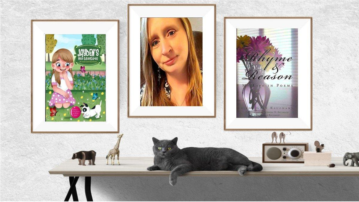 ILENE KAUFMANN @lovemygrandchi1 THANK YOU FOR THIS BEAUTUFUL BANNER ANDREAS @andreas_wisst!  RHYME &amp; REASON: MY LIFE IN POEMS  and   JAYDEN&#39;S NEW ADVENTURES  by Ilene Goff Kaufmann  https://www. amazon.com/kindle-dbs/aut hor?_encoding=UTF8&amp;asin=B06XC556RC &nbsp; …  <br>http://pic.twitter.com/Hj0MLwEHuu <br>http://pic.twitter.com/j7jMKBaQT6<br>http://pic.twitter.com/jf9CX2SK4X