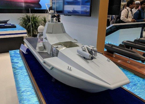 شركة بناء السفن (CSIC) الصينية تطلق نموذجاَ لسفن السطح غير المأهولة (USV). Dz2yOHxX0AEvkeM