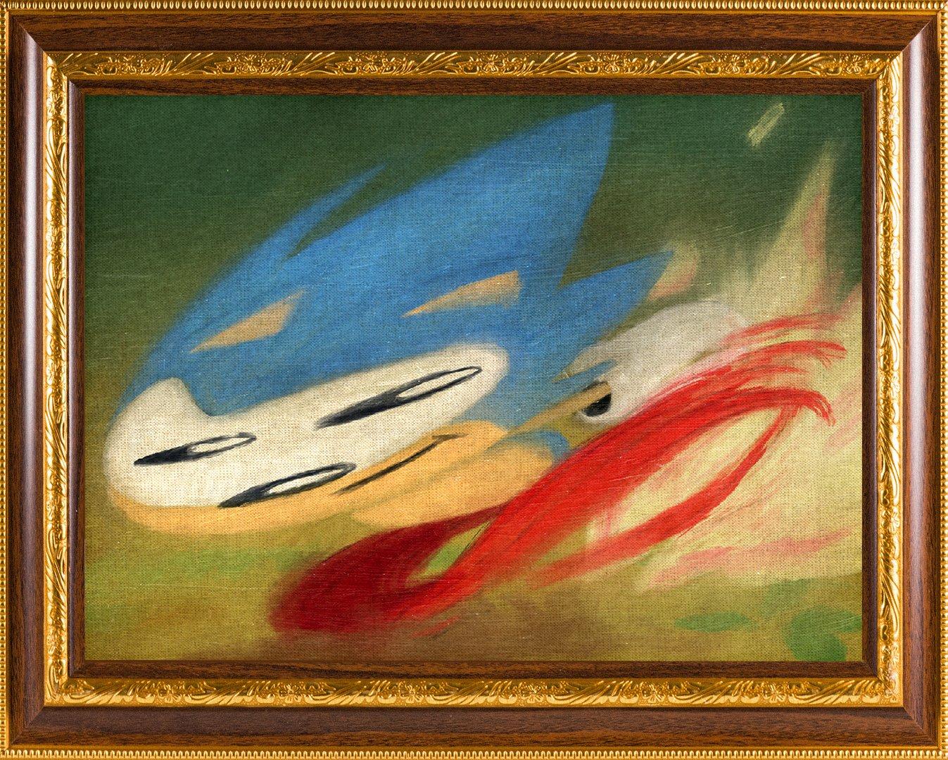 Sonic The Hedgehog On Twitter Art