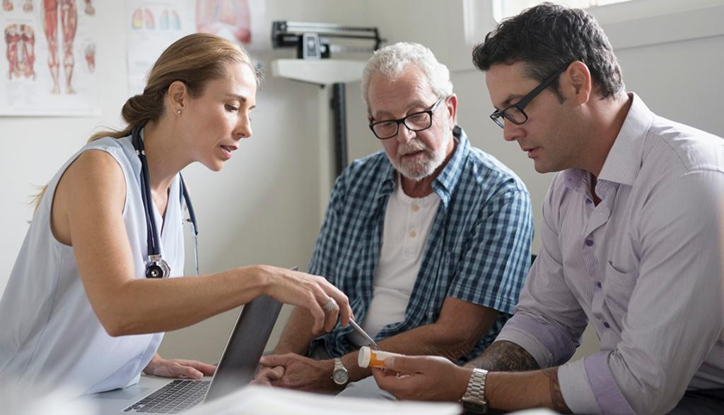 According to an AARP Research survey, there's a need for better doctor-caregiver communication. http://spr.ly/6010EToiu
