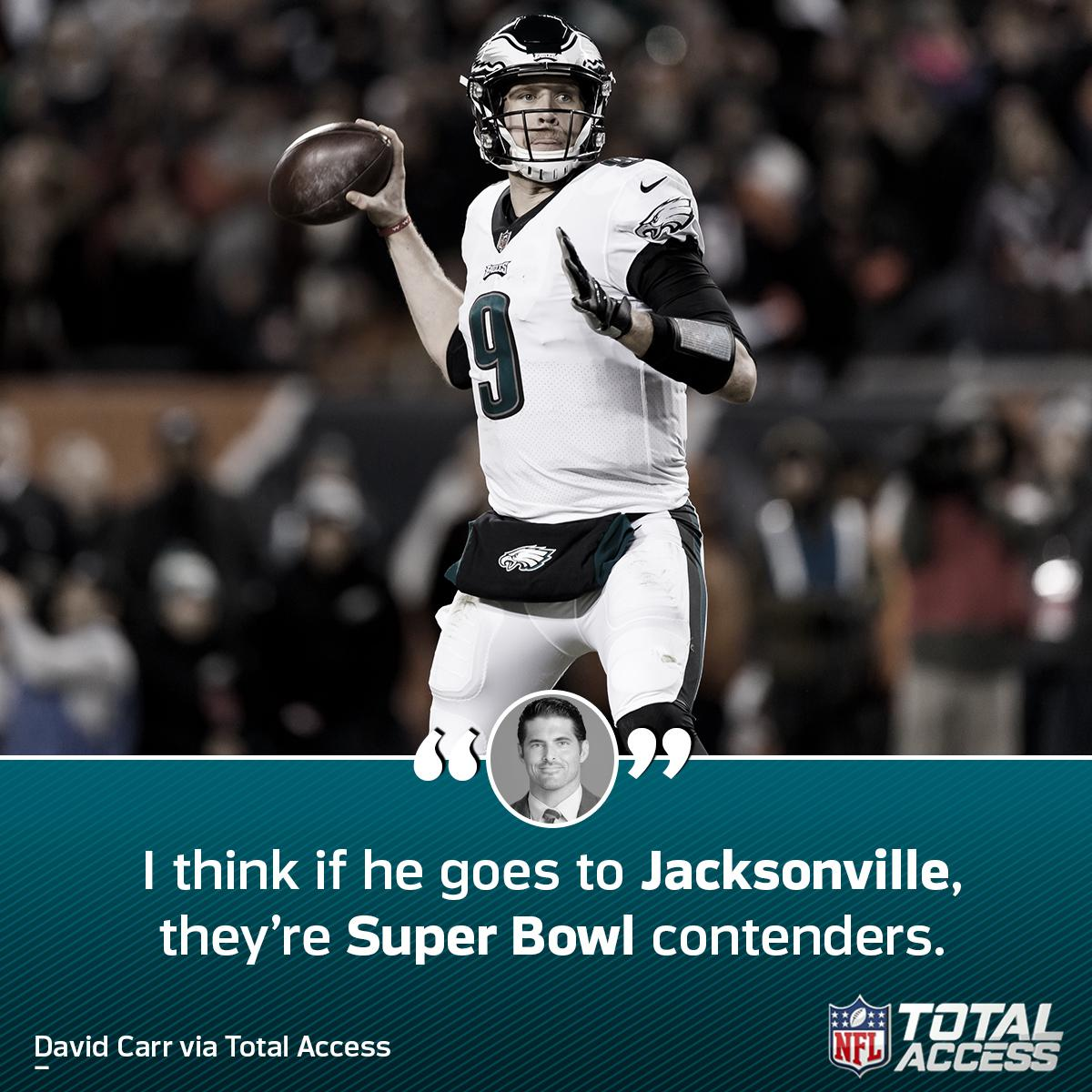Could Nick Foles lead the Jags to a ring?   (via @DCarr8)<br>http://pic.twitter.com/1iwy95Nv1l