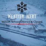 Image for the Tweet beginning: Due to inclement weather @WilsonSchlDist