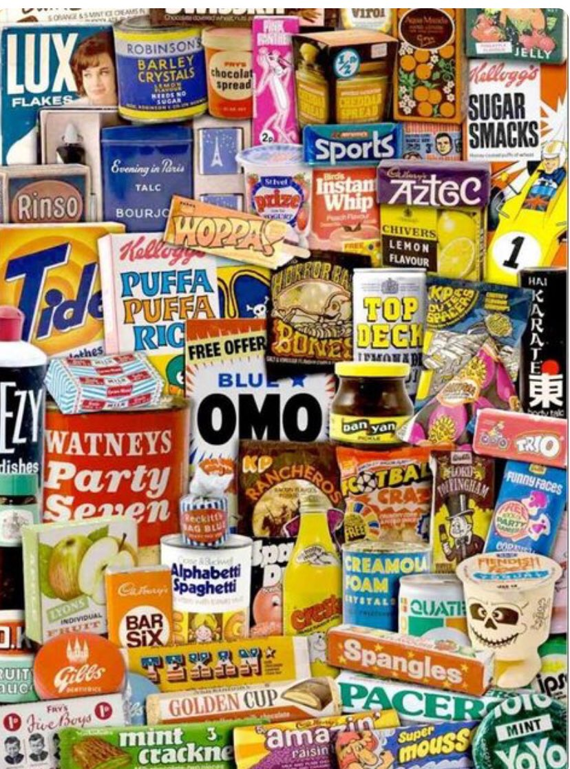Some old favourites here!  I spy my favourite ever chocolate bar - The Pink Panther 😋