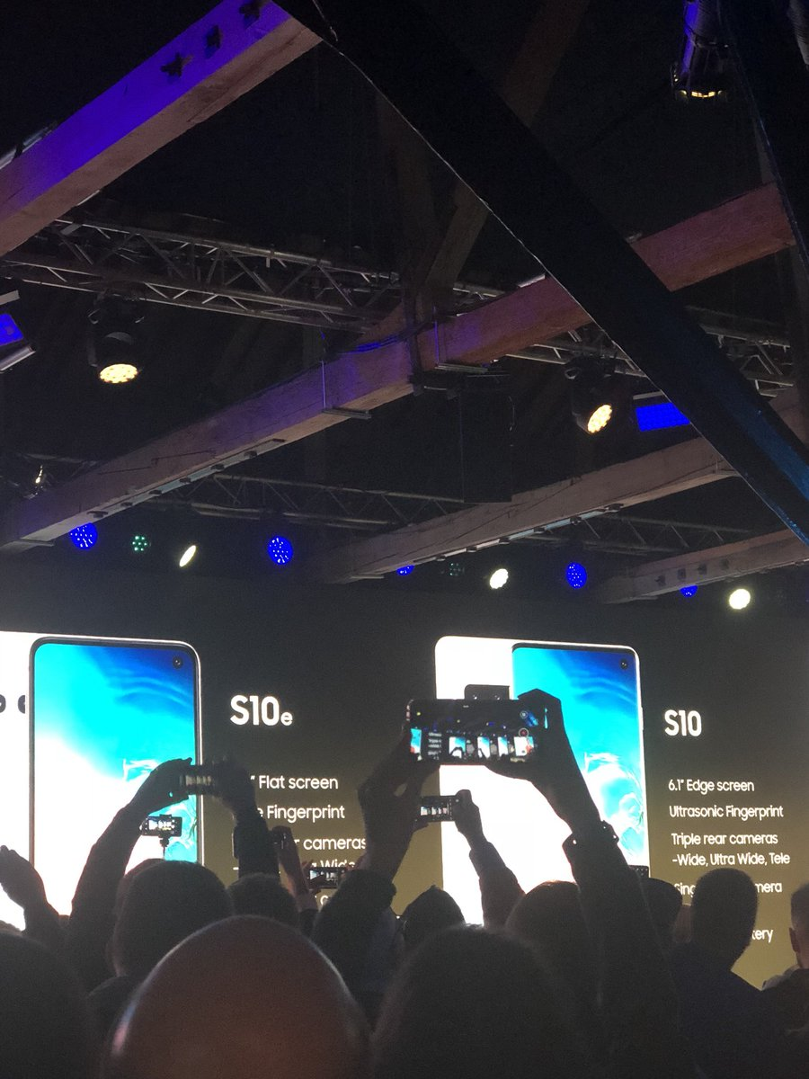 Next up, Samsung rolls out a new #GalaxyS10 range, in 3 models.