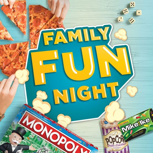 Gather your family and friends and unplug with fun games and noms everyone will love! What's your favorite family game? 🎲🍿🃏🍕 http://spr.ly/6019ET20F