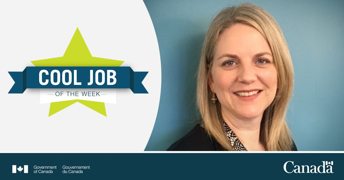 This week's #CoolJobGC may go viral. Meet Samantha Wilson-Clark from PHAC. She leads a team of professionals who develop outbreak response training for emergencies. Learn more about her story: http://ow.ly/CM4v30nLQM3. #GCJobs