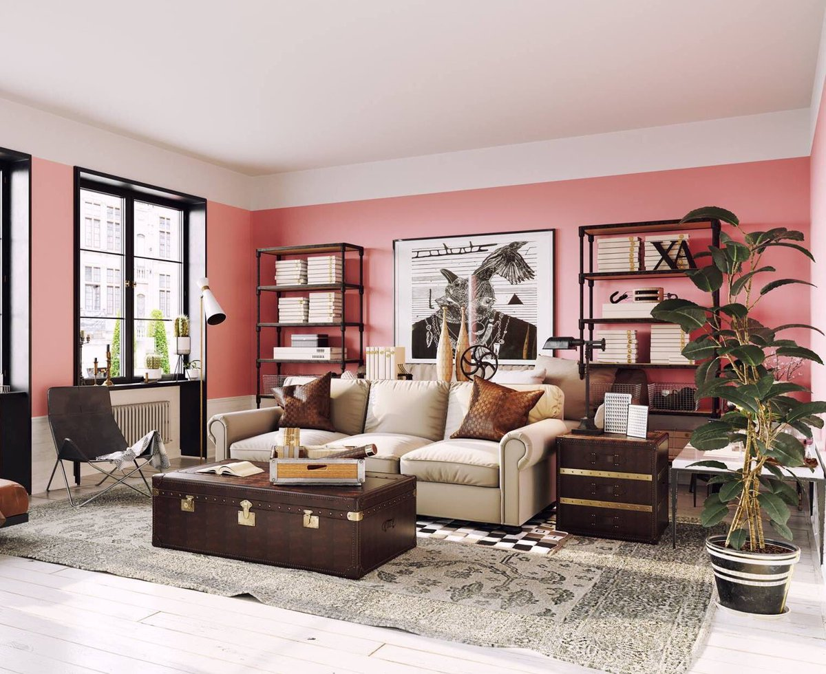For a stylish and bang on trend interior that gives you the WOW factor go for the golden and peachy tones of the @pantone Colour of the Year &#39;Living Coral.&#39;  Neutrals&amp; earthy browns as your complementing shades bring an element of sophistication to this playful sympatico palette <br>http://pic.twitter.com/KSLS6wuBDf