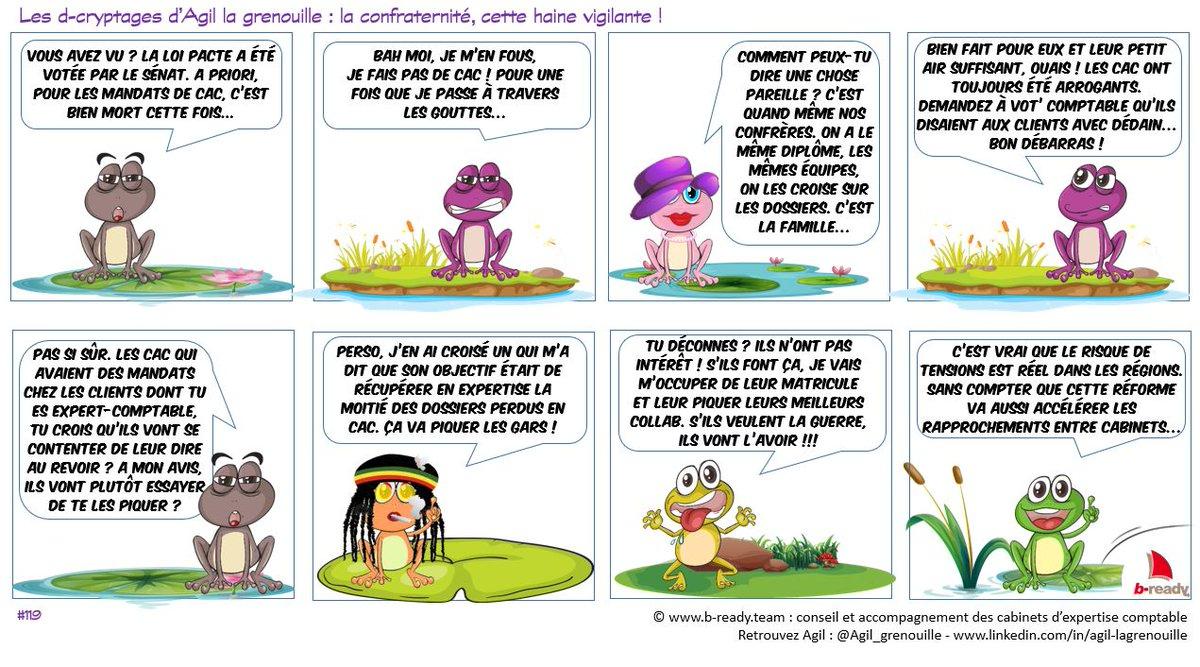 Agil La Grenouille On Twitter La Loi Pacte Le Cac L