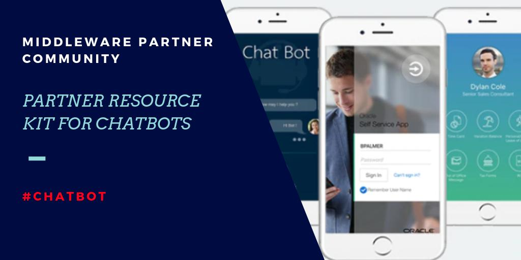 Calling @Oracle #Weblogic Partner Community Members… JOIN #Chatbot hands-on training for @Oraclepartners in Madrid / London / Prague. Get your #DigitalAssistant Partner Resource Kit &amp; learn how to develop chatbots with #OracleMobileCloud :  http:// bit.ly/2BKejTf  &nbsp;   #emeapartners <br>http://pic.twitter.com/VisAQwXZTn