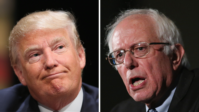 Sanders fires back at Trump: 'What's crazy is that we have a president who is a racist, a sexist, a xenophobe and a fraud'  https://t.co/eaTkFqbc3d