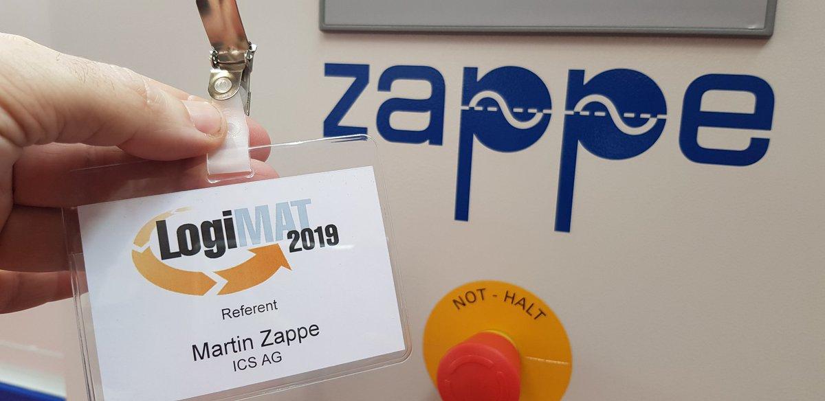 """Noch ein Namensvetter gefunden """"Zappe"""" 🤣! @LogiMAT_Messe @ICS_AG @AIM_Deutschland #ITSicherheit #AI #CyberSecurity #Datenschutz #LogiMAT #RFID #Logistics #ITSicherheit #ISMS #Industry40  #IoT #Automation #Digitalisierung #cybercrime #industria40"""