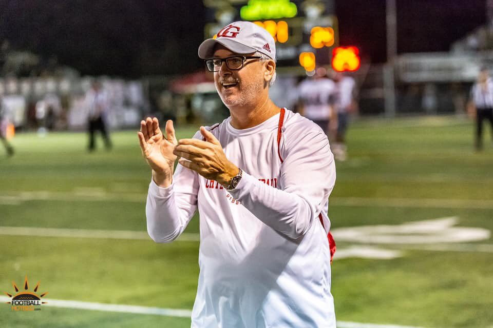 We mourn! May God bless the family of coach Kirby of @GibbonsFootball. He was a real friend to #hotbedworld and an amazing advocate for the school. He was personable, passionate and really for the kids. We loved working with him during our time at Gibbons. He will be missed! 🙏🏿🙏🏿