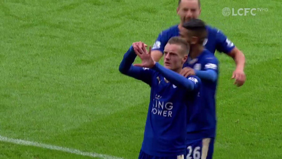 One to savour from @Vardy7 🆚 Crystal Palace...  #LeiCry