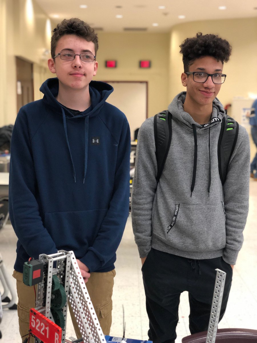 .@CorcoranCougars &amp; @PSLAatFowler students have qualified for the State VEX Robotics Championship in March! Congrats to Jesse Gallipeau &amp; Dakota Smith (Corcoran) and Hector Ferrer-Menendez, Iman Ali &amp; Isaiah Brundige (PSLA). Great work, #SCSDSTEM scholars! @SCSDScience<br>http://pic.twitter.com/uBasuuGCXo