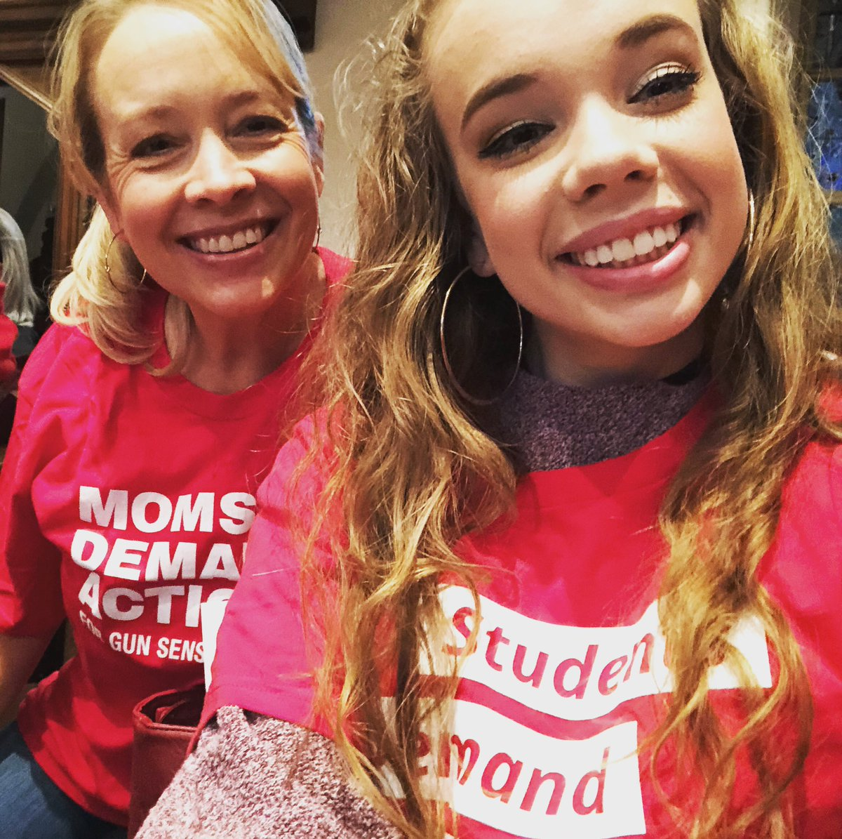 Bringing my daughter to her first Moms Demand Action Advocacy Day in GA!! #gapol #MomsDemandAction