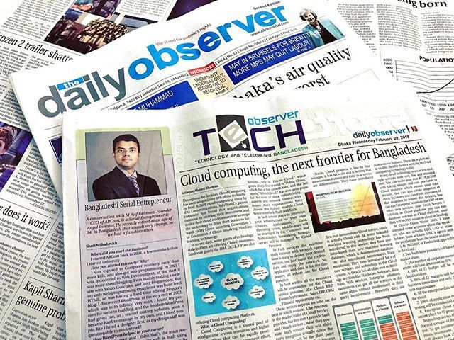 test Twitter Media - Today's The Daily Observer! In this short interview I have spoken how I started very early, how WordPress helped my career, and how I got into investments! Special thanks to Shahrukh, we had a very good conversation!Link to online article - … https://t.co/viXmwOM9Us https://t.co/XX946kIw7p
