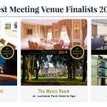 Image for the Tweet beginning: Best Meeting Venue Finalists 2019