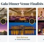 Image for the Tweet beginning: Best Gala Dinner Venue Finalists