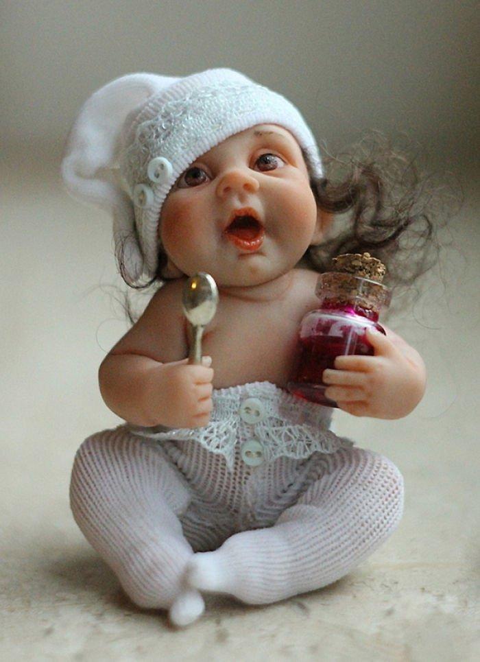 Прикольные картинки кукла, год кого открытки
