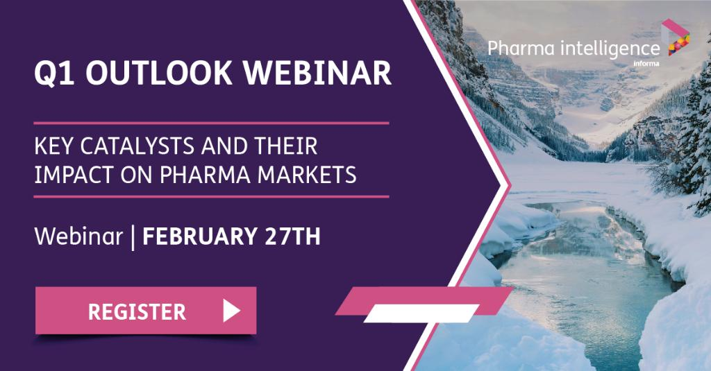 It is one week to go until our industry analysts discuss their data-based views on what is in-store for key drugs in 2019! Join us next week http://bit.ly/2sWVVS2