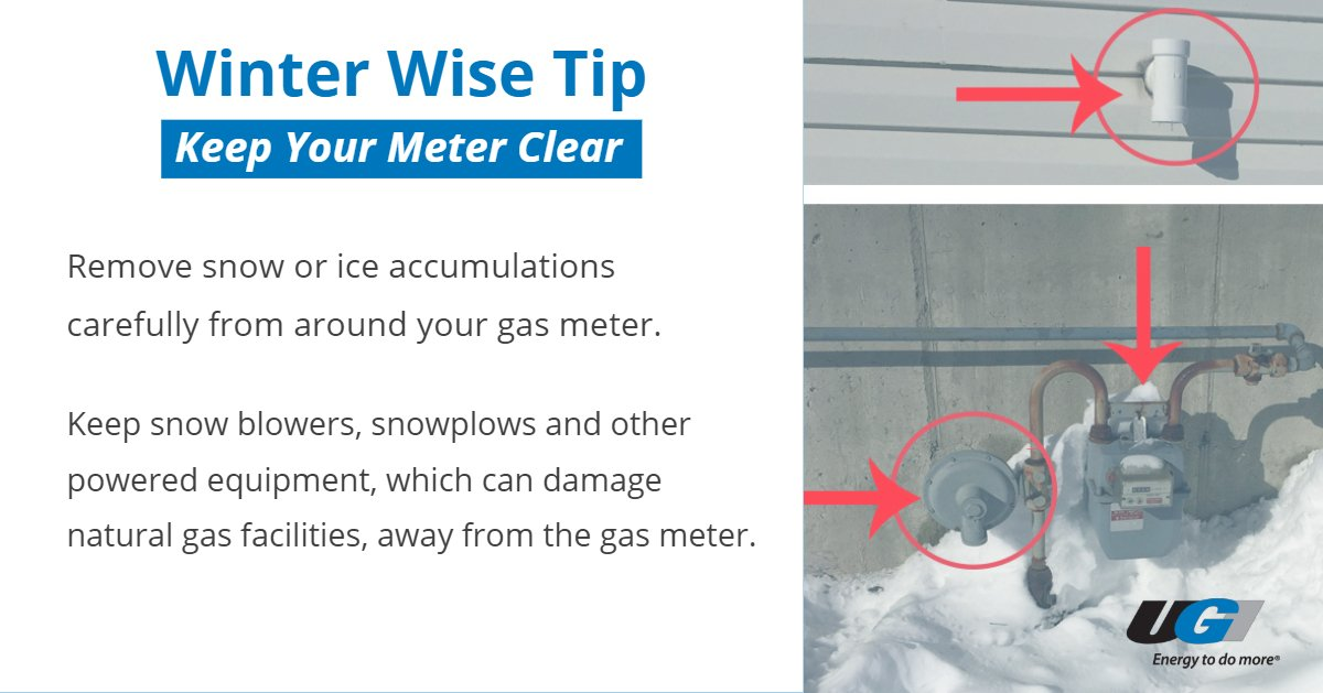 "test Twitter Media - As winter weather impacts our service region, UGI reminds customers to clear snow and ice from around gas and electrical meters to allow UGI personnel access. For more ""Winter Wise"" safety tips, visit: https://t.co/mk4Prr0Rmq https://t.co/G05CH15S6Z"