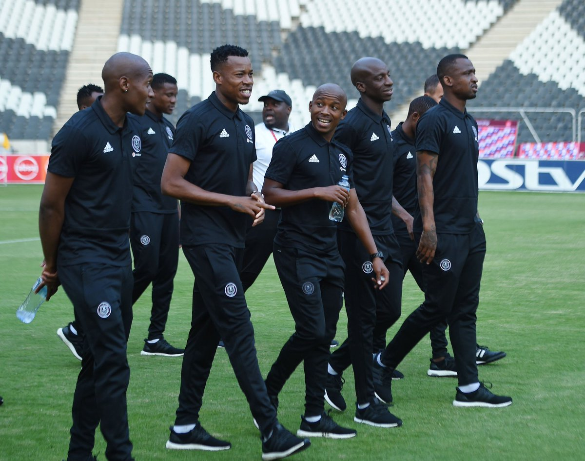 ☠ The #Bucs have checked in to Mbombela 😎💪🏾⚽️ ⚫⚪🔴⭐ #AbsaPrem #Matchday  #OnceAlways