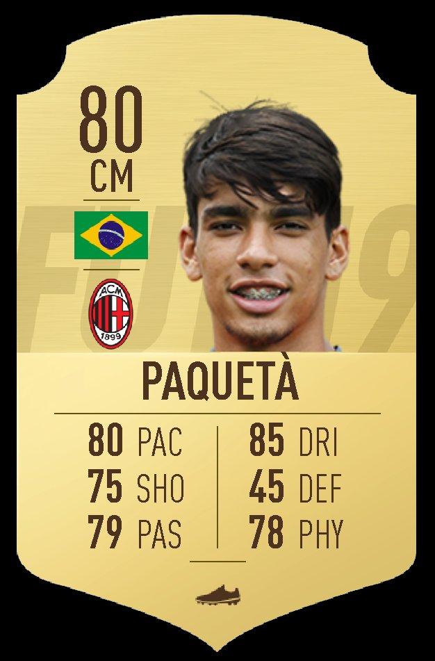 Add Paquetà to AC Milan @LucasPaqueta97