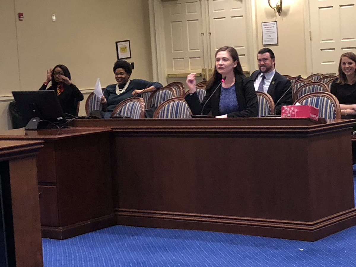 Just presented my bill HB1005 that will simplify the name change process &amp; remove the requirement to publish the change in a widely circulated newspaper. This will be especially helpful to domestic violence survivors and LGBT individuals. #MDPolitics<br>http://pic.twitter.com/nw9aqqx56Y