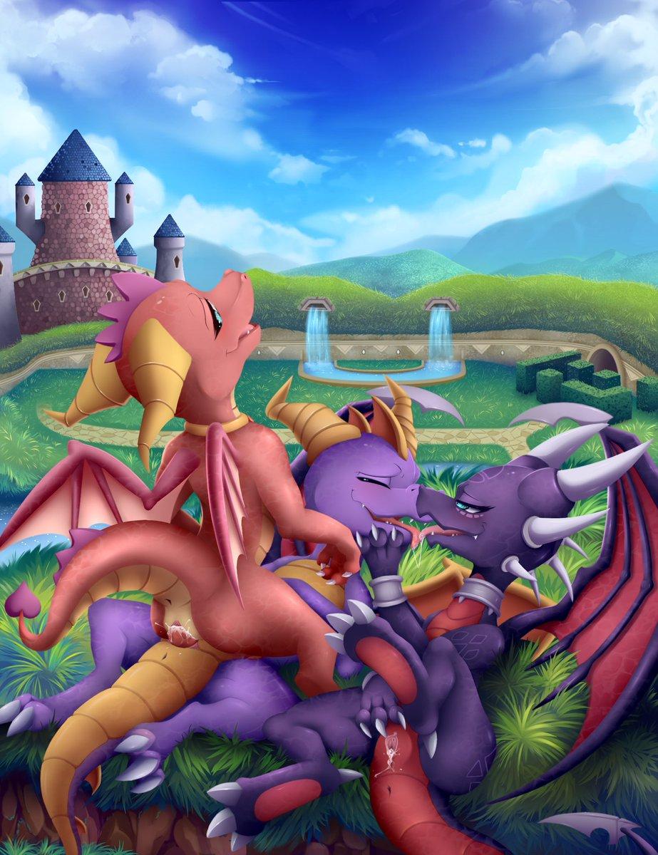 Spyro le dragon porn naked images