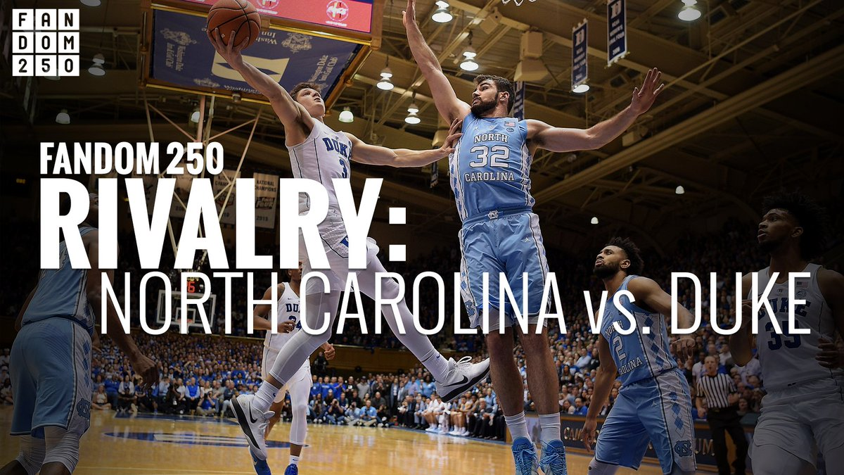 The greatest rivalry in college basketball. It's a must-watch game when North Carolina takes on Duke tonight! Who takes this one?