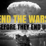 Image for the Tweet beginning: We must #EndTheWars before they