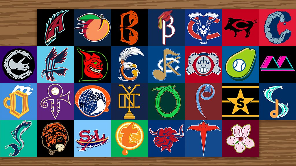 Let's get weird for a second...   What if we re-imagined all 30 @MLB clubs logos & nicknames? 🤔  https://atmlb.com/2Iu1Rg2