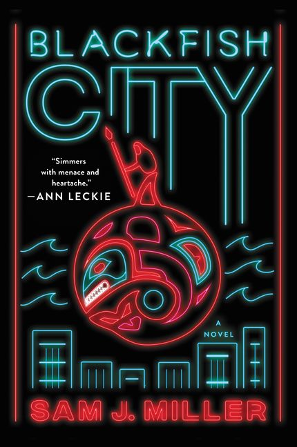The magnificent BLACKFISH CITY by the spectacular @sentencebender is a 2018 Nebula Finalist for Best! Novel!! https://nebulas.sfwa.org/2018-nebula-finalists-announced/… 🐋✨
