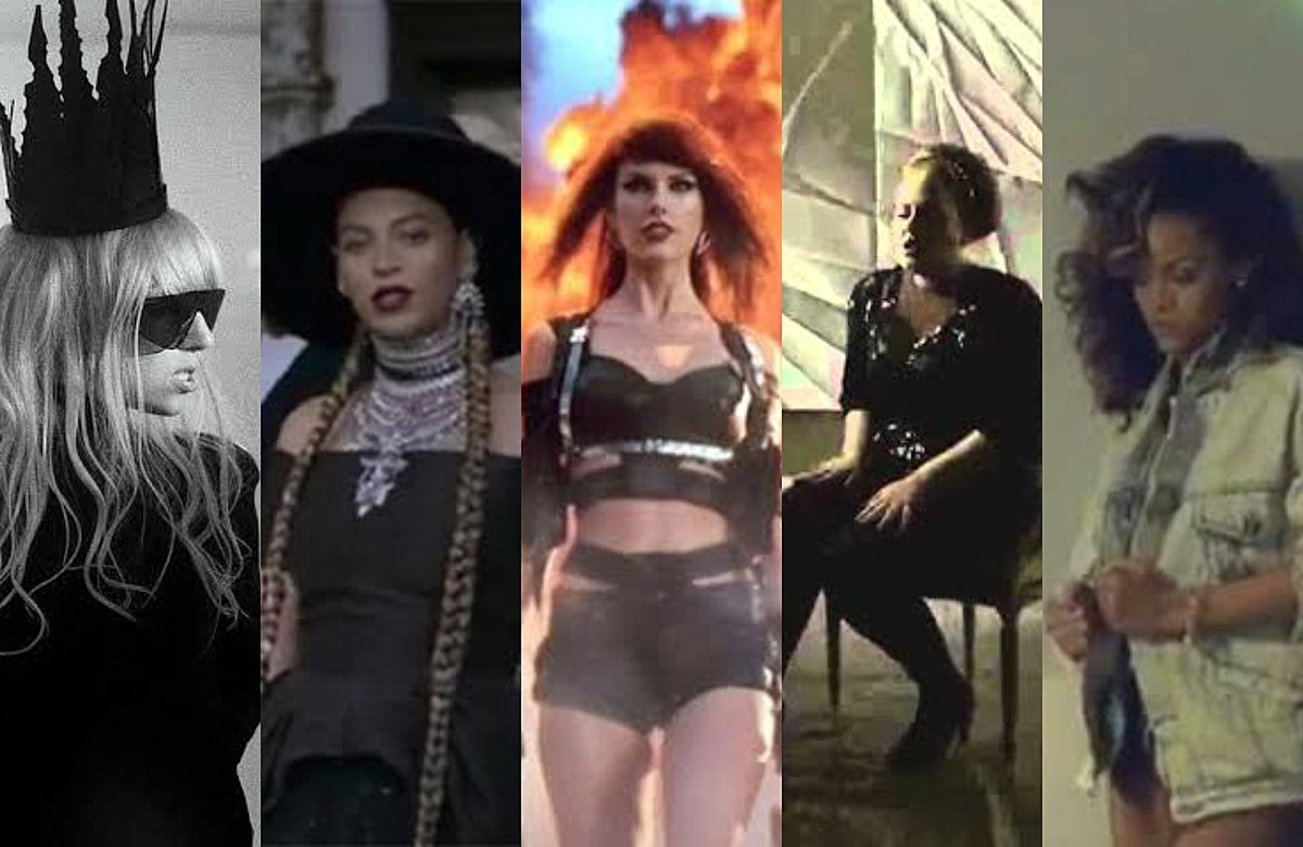 The only female artists to win Grammys Best Music Video this decade:  Taylor Swift - Bad Blood Lady Gaga - Bad romance Adele - Rolling In The Deep Rihanna - We Found Love Beyoncé - Formation <br>http://pic.twitter.com/iusNzfePDO