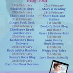 Image for the Tweet beginning: On the #BlogTour for THE