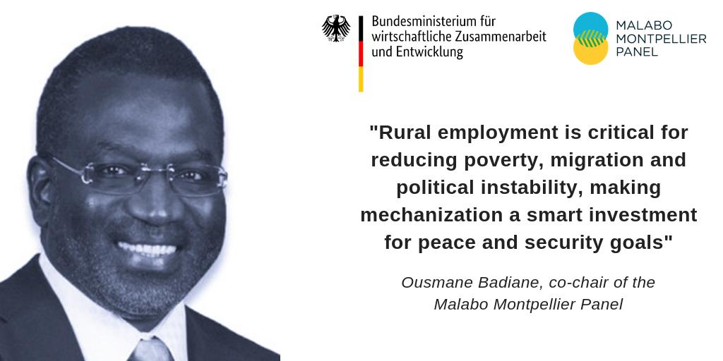 test Twitter Media - #Mechanization can help improve quality & value of #ag work and provide employment and sustainable rural livelihoods. Follow discussions @ the @MamoPanel #InnovationDialogue in Berlin with @BMZ_Bund @ZEFbonn @HelloTractor & download the #Mechanized report: https://t.co/MnljKLFOYT https://t.co/enH2fo8Y5G