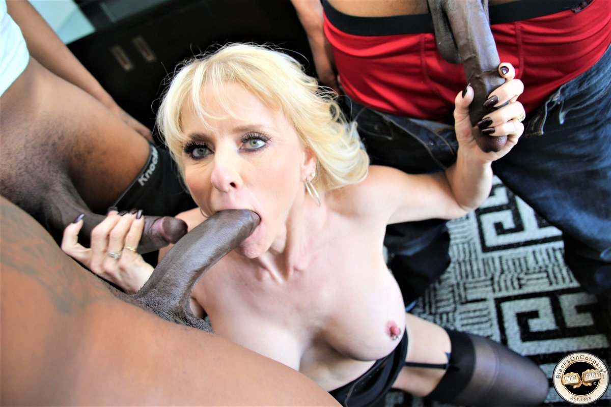 See And Save As Blond Milf And Black Dick Porn Pict