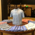 Image for the Tweet beginning: Just arrived! New @petermillar polos