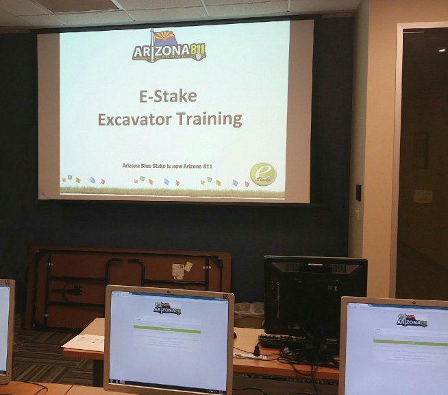 Interested in scheduling utility locating in a few clicks of a mouse? Sign up for E-Stake training…