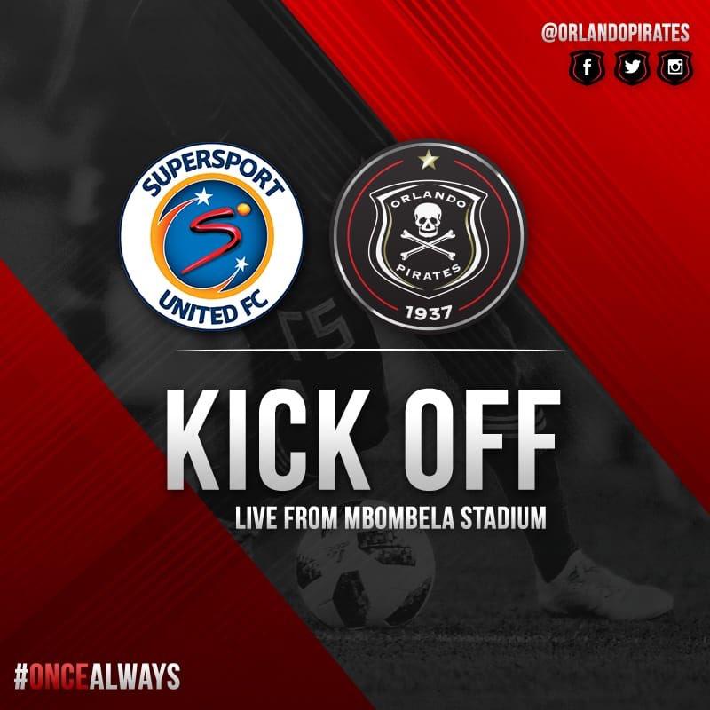 ☠️Victor Hlungwani gets the match underway #OnceAlways