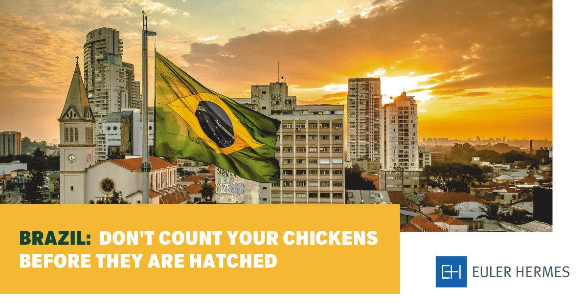 #Brazil : amidst Bolsonaro's first political crisis, market and consumer optimism are at record highs, decoupling from hard data. But beware: any disappointing event could bring back market volatility! Get more details in our latest#WeeklyExportRiskOutlook https://t.co/Ba1F1V9C4P