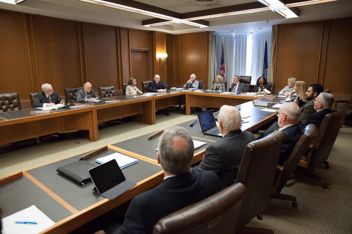 NH House Criminal Justice and Public Safety Committee votes 11-6 to recommend repeal of the #deathpenalty. Bill moves to next full House for vote in March. #nhpolitics #RepealDP2019 Photo: Scott Langley http://deathpenaltyphoto.org