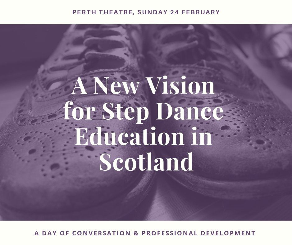 Still a couple of *free* spaces on this professional development day for #stepdance teachers. Led by Nic Gareiss w/ Wendy Timmons and **Special Guest** joining us all the way from Cape Breton via the wonders of modern technology! #FirstFootingDance https://www.tdfs.org/step-dance-education/…